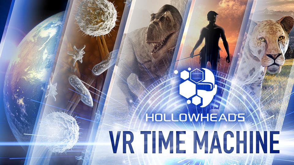 Hollowhead's VR Time Machine on Kickstarter